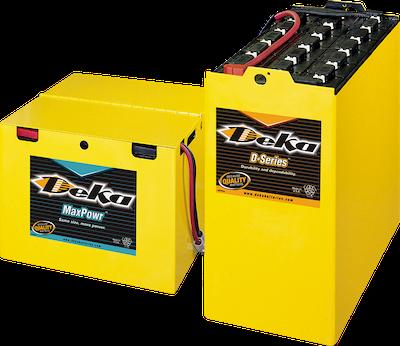 ¿como comprar bateria para montacargas?